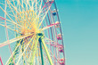 Ferris wheel vintage - 68205950
