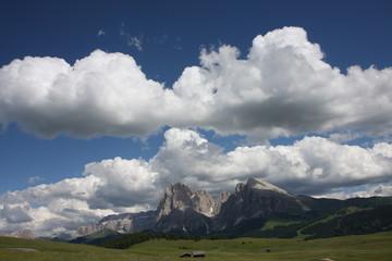 Sasso lungo e sasso piatto Alpe di Siusi trentino