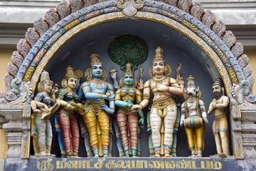 Hindu Temple - Madurai - Tamil Nadu - India
