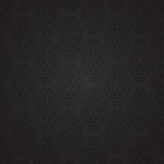 Damascus. Black pattern.