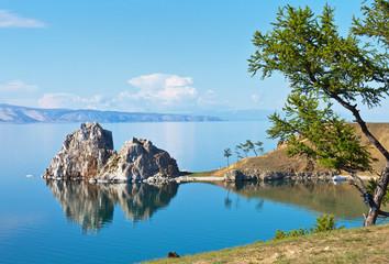 Travel on Lake Baikal in summer. Olkhon Island