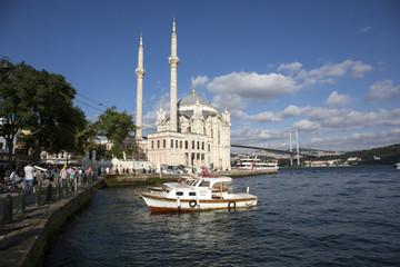 Ortakoy Mosque in Istanbul, Turkey
