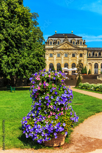 canvas print picture Schlossgarten in Fulda