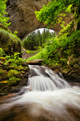 Natural arches in the Rhodope Mountains, Bulgaria