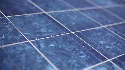 Solar Panel - closeup - green energy! HD