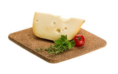 Maasdam cheese