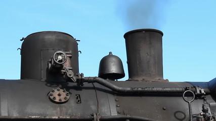 Kamin einer Dampflok, Zoomeffekt