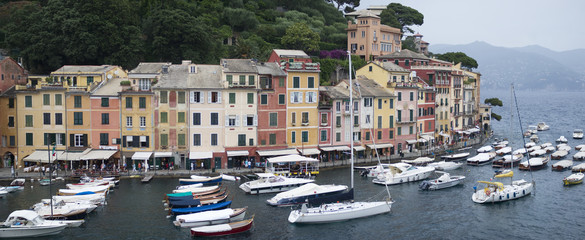 Portofino, Italy - Famous tourist destination