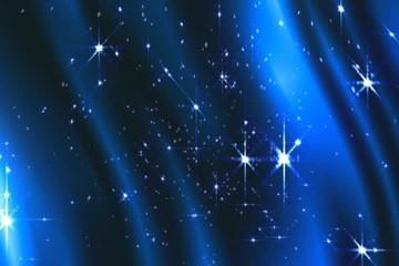 звёзды  в  синей  волне