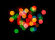 Defocused abstract lights christmas background