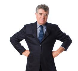 Elegant man posing