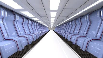 SCIFI interior futuristic