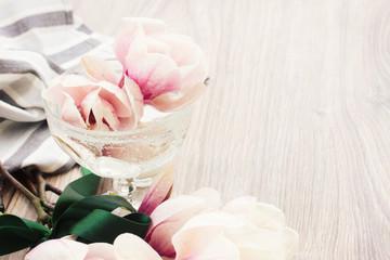 fres magnolia flowers