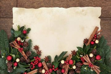 Christmas Spice Border
