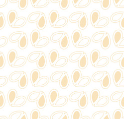 Vector seamless pattern. sea theme with mussel