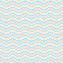 Vector seamless pattern. background with abstract waves