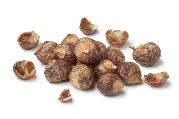 Nutshells of soapnuts
