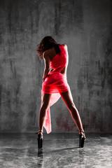strip dancer