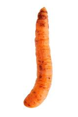 Fine ripe curve carrots