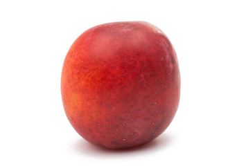 ripe plum isolated