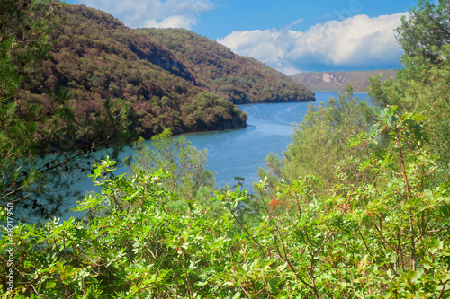 View on Lim Fjord in Istria - 68217950