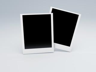 photo frame. retro photography concept