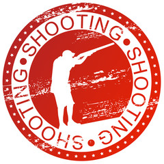 Sports stamp - Shooting