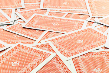 Red Facedown Cards
