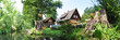 Leinwanddruck Bild - Landschaft im Spreewald