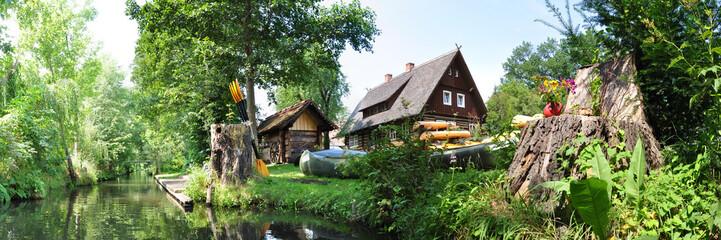 Landschaft im Spreewald
