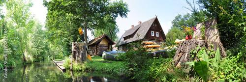 Leinwanddruck Bild Landschaft im Spreewald