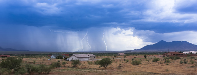 A Dance of Lightning Bolts Near San Jose