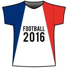 Fan Trikot Football Frankreich 2016
