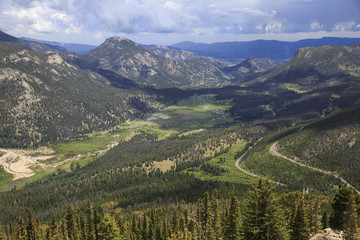 Rocky Mountain National Park In Colorado
