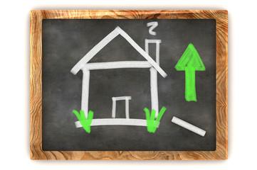 Blackboard Housing Market Rise