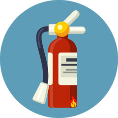 Vector Fire Extinguisher