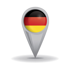 Germany Seal, German Flag (vector Art)