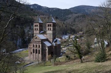 Murbach, Romanische Kirche im Elsaß
