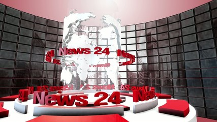 News - Broadcast Graphics Title. Loopable.