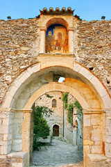 Medieval byzantine fortress of Mystras (UNESCO World heritage)