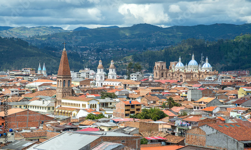 Foto op Canvas Zuid-Amerika land view of the city of Cuenca, Ecuador