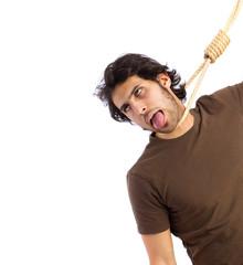 Hindu cool young hangman