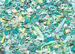 Plastic resin pellets background - 68231717