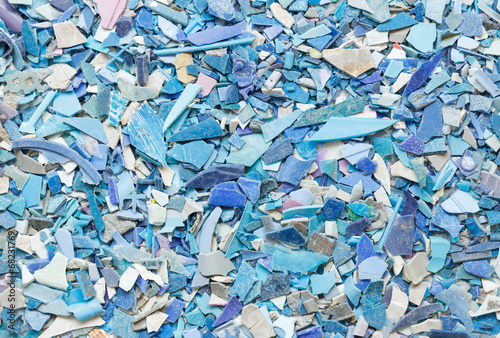 Plastic resin pellets background - 68231769