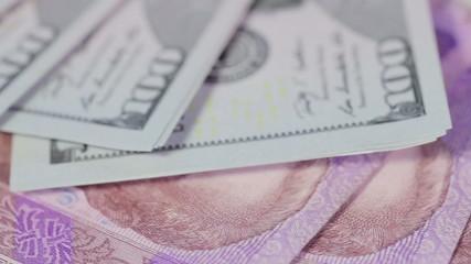 Various banknotes