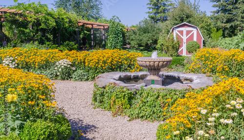 Backyard Fountain - 68235397