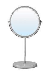Chrome Makeup Mirror