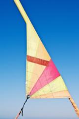 vela de catamaran