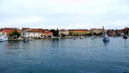 Beautiful city of Rovigno, Croatia