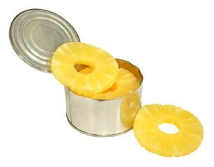 Tinned Pineapple Rings